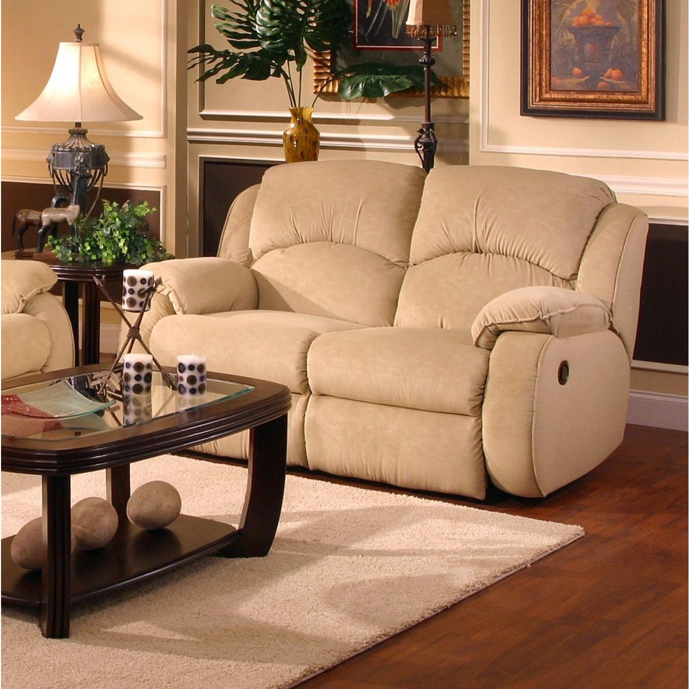 loveseat with from sd power oberson reclining gunsmoke htm console recliner double open