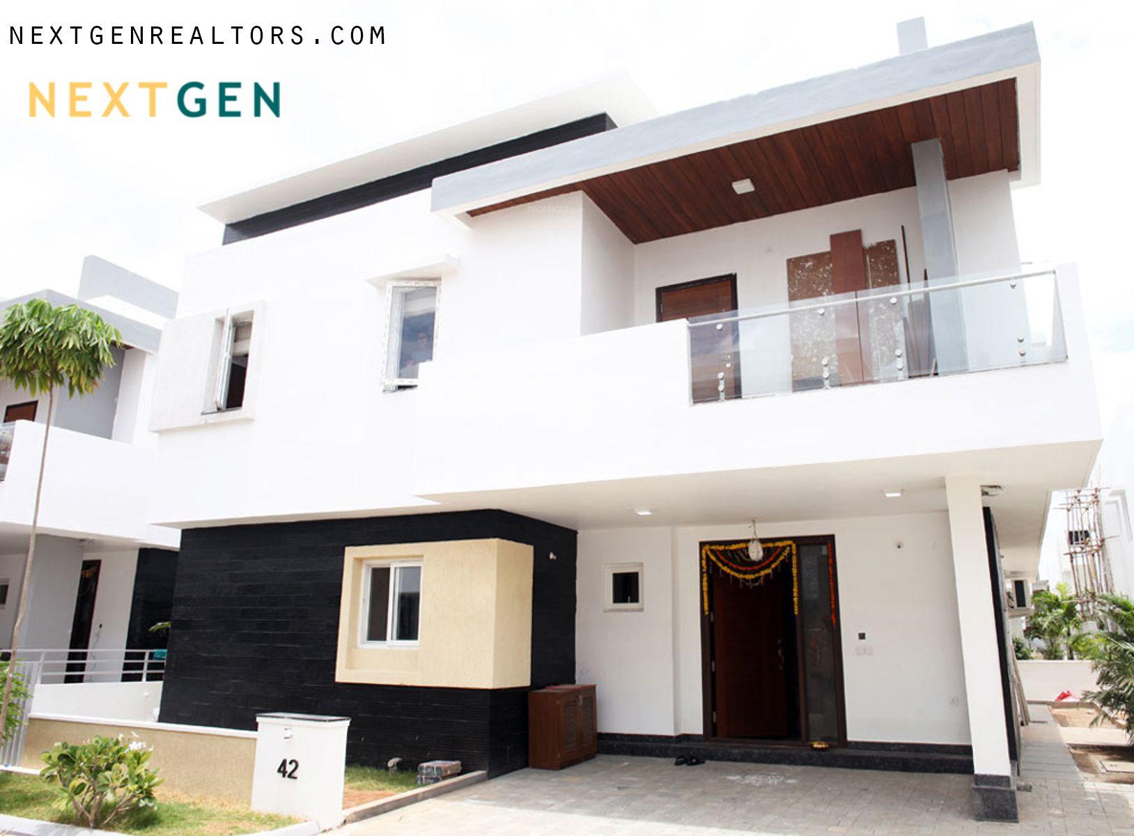 Get On To Duplex Villas For Sale In Gachibowli Hyderabad For Luxury