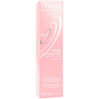 rose semi permanent hair color need ion color