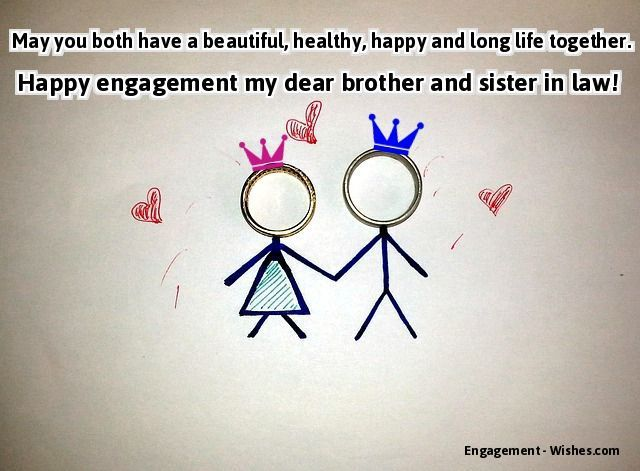 for brother wishes for engagement for brother engagement