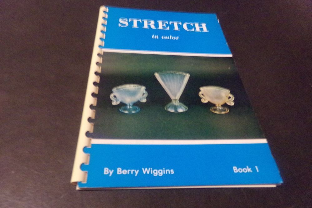 Vintage Stretch Glass Book & Price Guide Dolphin Compote Fenton ...