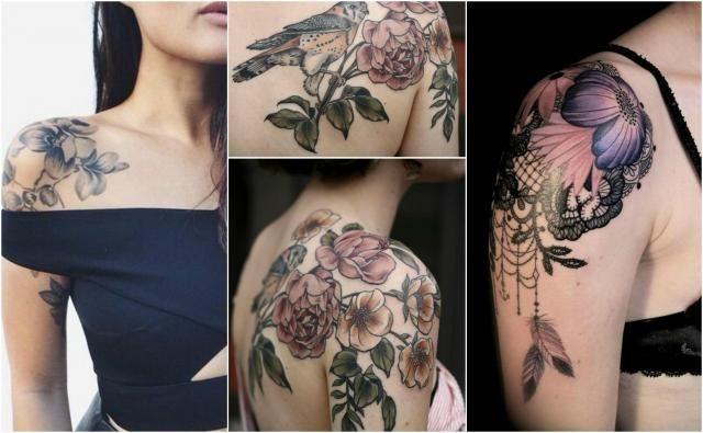 Gustowne Tatuaże Na Barku Najmodniejsze Motywy Tatuaże