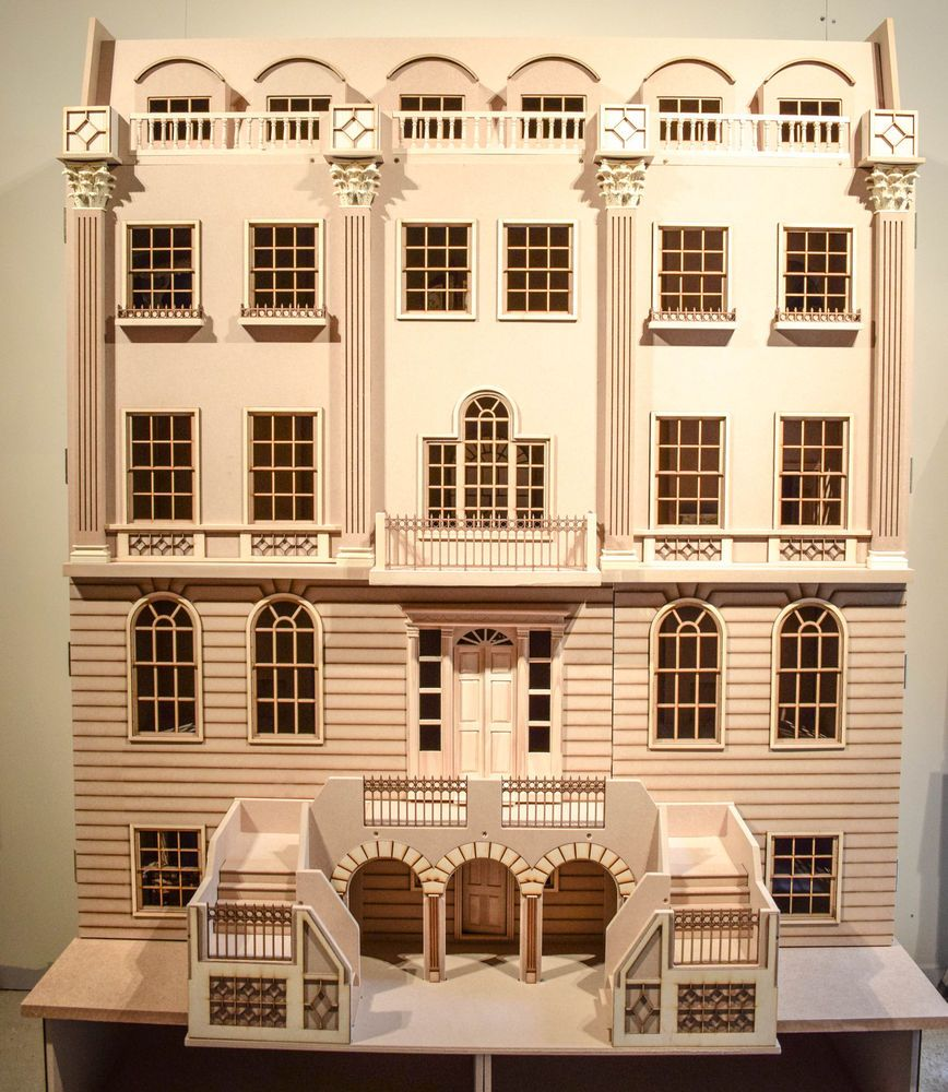 1 12 Scale Dolls House The Buckingham Grand House 16 Room Dolls House Kit Grand Homes Doll House Plans Kit Homes
