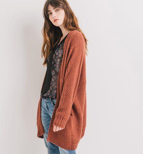 commercialisable comment chercher forme élégante Long cardigan sienna - Promod | old collections | Gilet ...