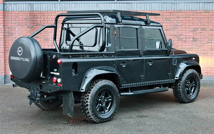Used 2010 Land Rover Defender Vatq Xs Double Cab Pickup Tdci Seeker Sceptre Edition For Sale In Derby Land Rover Land Rover Defender Land Rover Defender Pickup