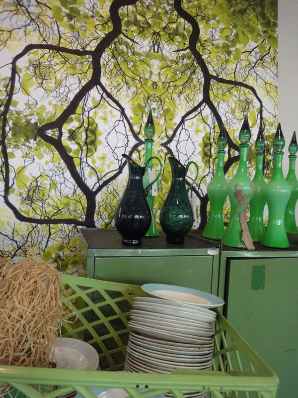 Green decor | by Flowers in the Foyer taken at PietHeinEek