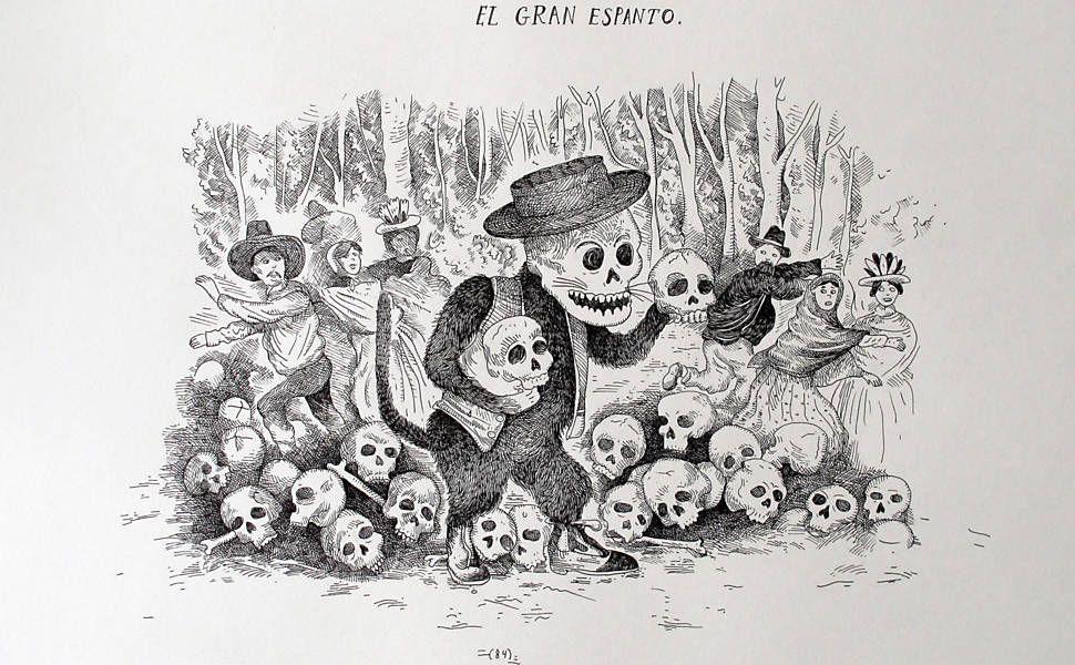Desenho Do Artista Colombiano Kevin Simon Mancera Que Viajou Pela