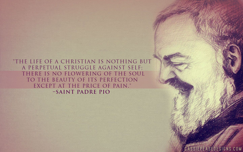 St Padre Pio Desktop Wallpaper Cassie Pease Designs Catholic Wallpaper Catholic Padres