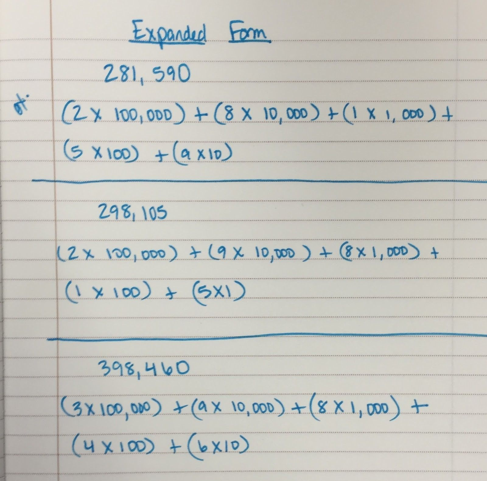 Expanded Form 17th Grade Math 17 Ways On How To Get The