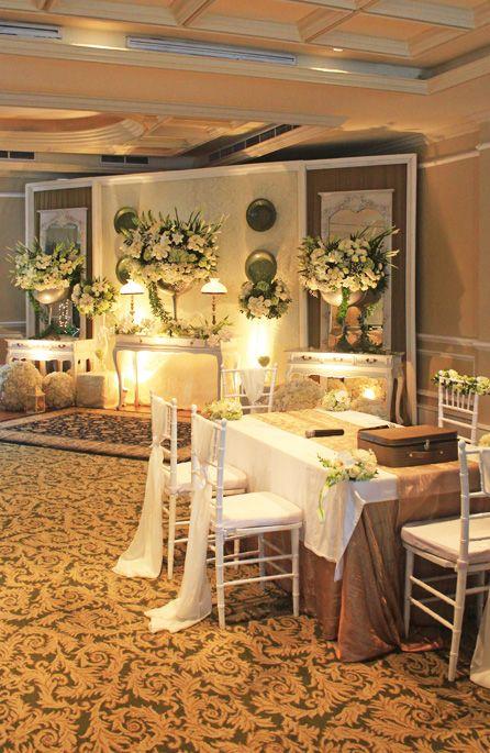 Akadnikah Simplicity White Mawarprada Warm Dekorasi