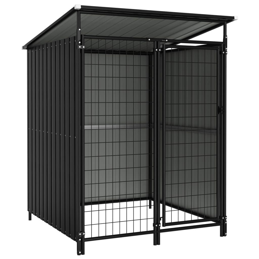 vidaXL Dog Crate 133 x 133 x 164 cm