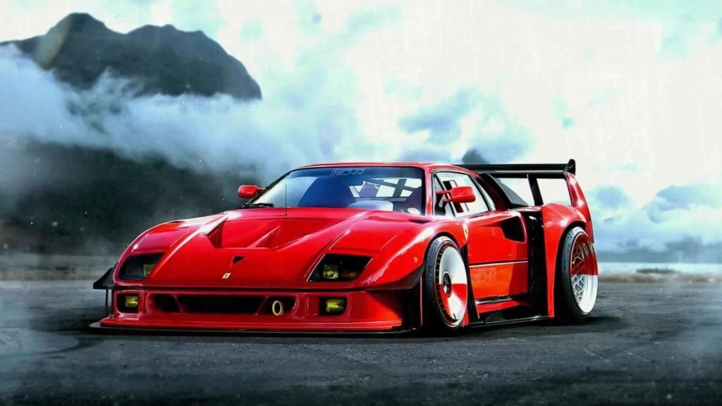 Iphone X Wallpaper 4k Ferrari F Supercar Wallpaper Studio Tens Of