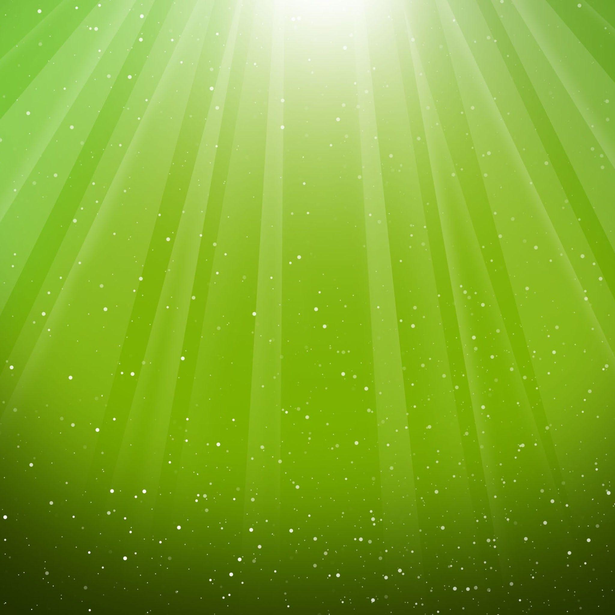 Green Desktop Wallpaper: Aurora Burst Lime Green 2048x2048