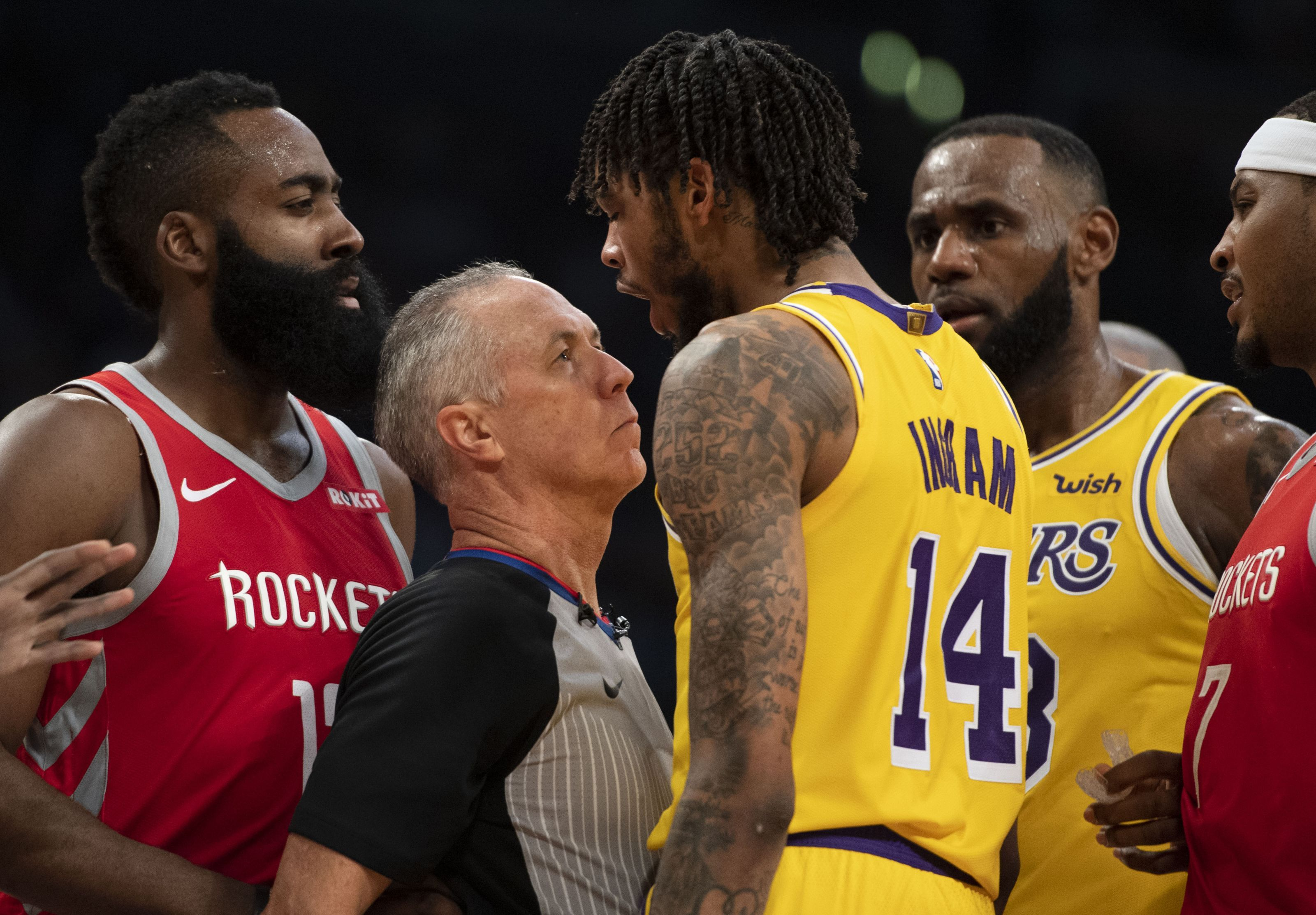 Los Angeles Lakers News People Are Missing The Point About The Fight Los Angeles Lakers Lakers Ingram