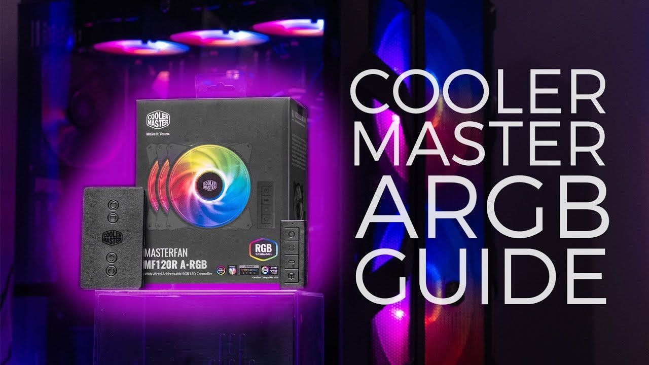 HOWTO Cooler Master A-RGB Setup and Install Guide - MF120R ARGB | GS