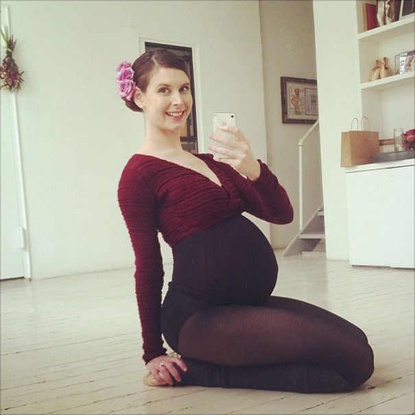 9-Months-Pregnant Ballerina Is Still Dancing (Updated) | Bored Panda