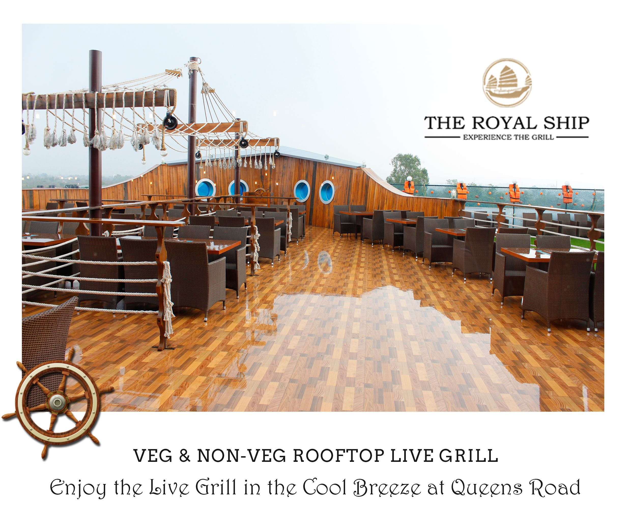 The Royal Ship Restaurant Is A Premier Fine Dining Restaurant With