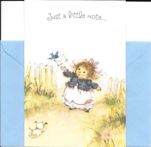 Mary hamilton bluebird and little girl happy birthday greeting card mary hamilton bluebird and little girl happy birthday greeting card by hallmark m4hsunfo Image collections