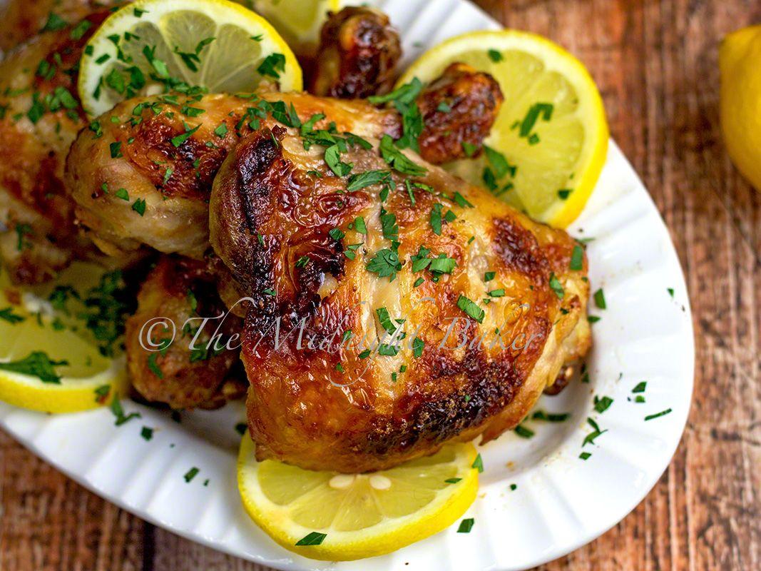 Lemon Chicken   bakeatmidnite.com   #chicken #lemonchicken #healthyrecipe