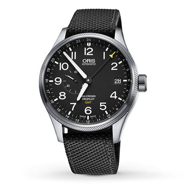 Oris Big Crown Propilot Gmt Small Second Watches For Men Monochrome Watches Cool Watches