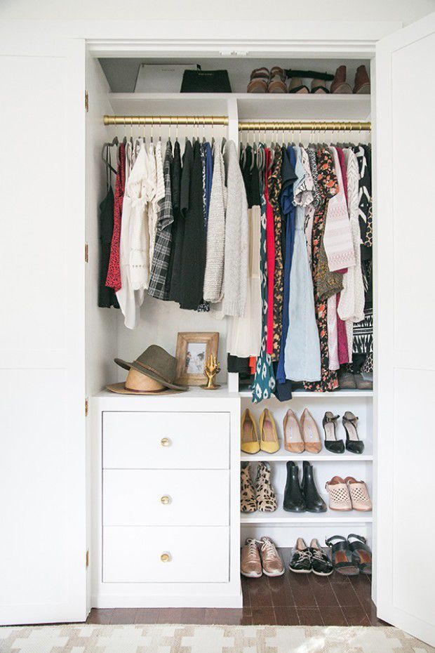 15 Tricks That Squeeze Every Inch Out of a Small Closet