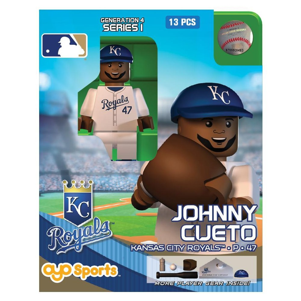 Kansas City Royals MLB Oyo Sports Mini Figure Johnny
