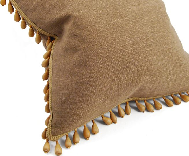 Ha130 Smq Brimar Beaded Pillow Eco Friendly Decor Pillows