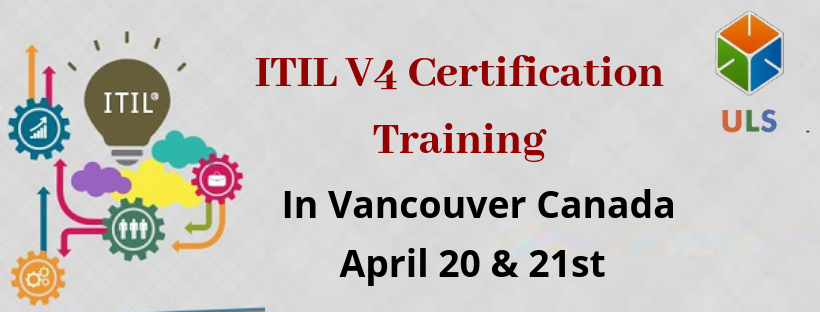 Enroll for ITILV4foundation training course in