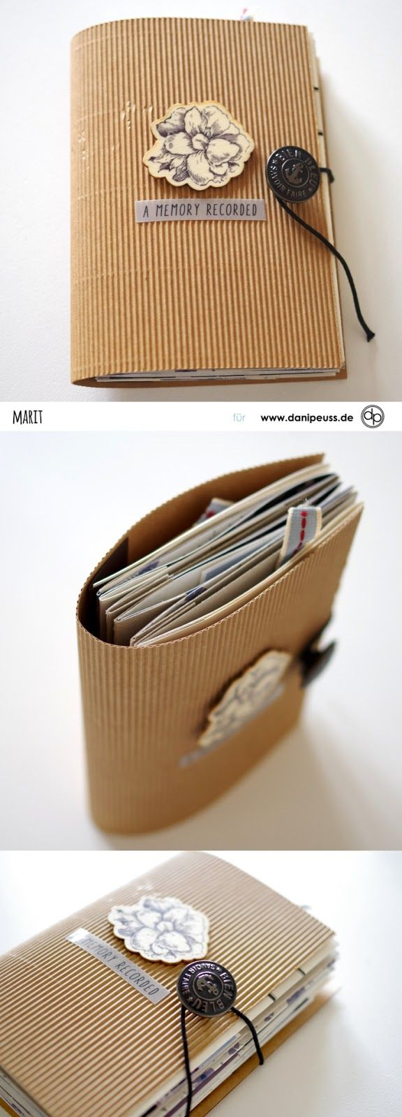 traumhaft schönes Minialbum von Marit für www.danipeuss.de #albumart