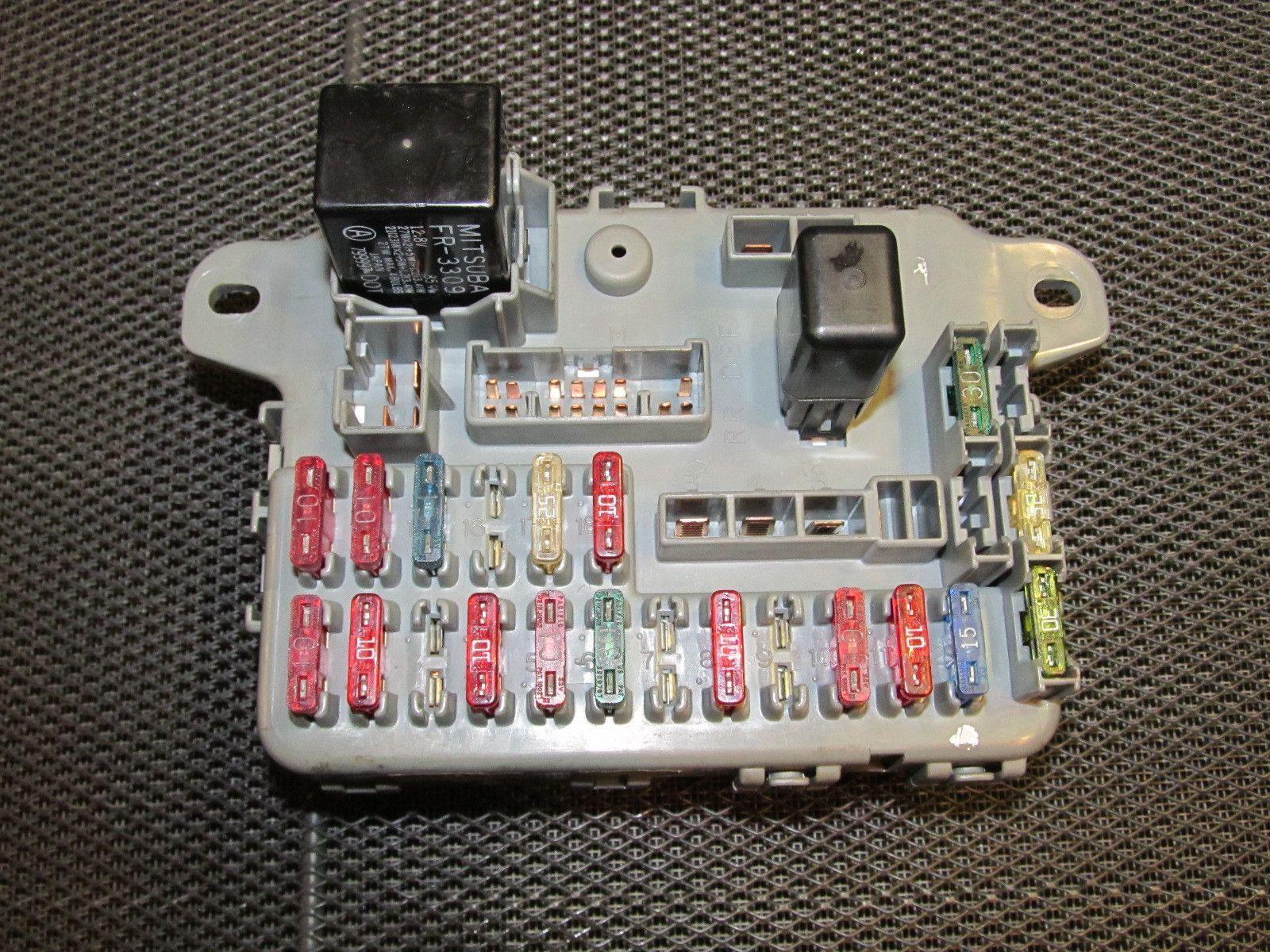 medium resolution of 88 89 honda crx oem d15b2 interior fuse box