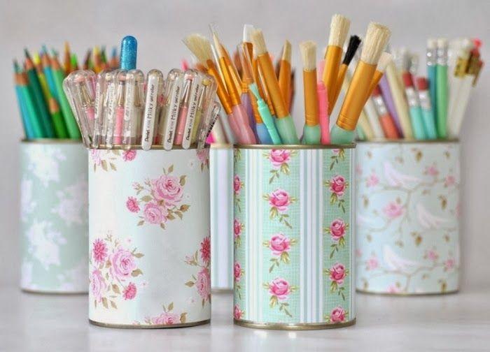 Minty Inspirations | wystrój wnętrz, dodatki i dekoracje do domu, zdjęcia, inspiracje: DIY - pomysły na wykorzystanie puszek