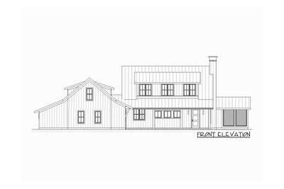 Plan 970018VC: 3-Bed Farmhouse with Bonus Over Garage