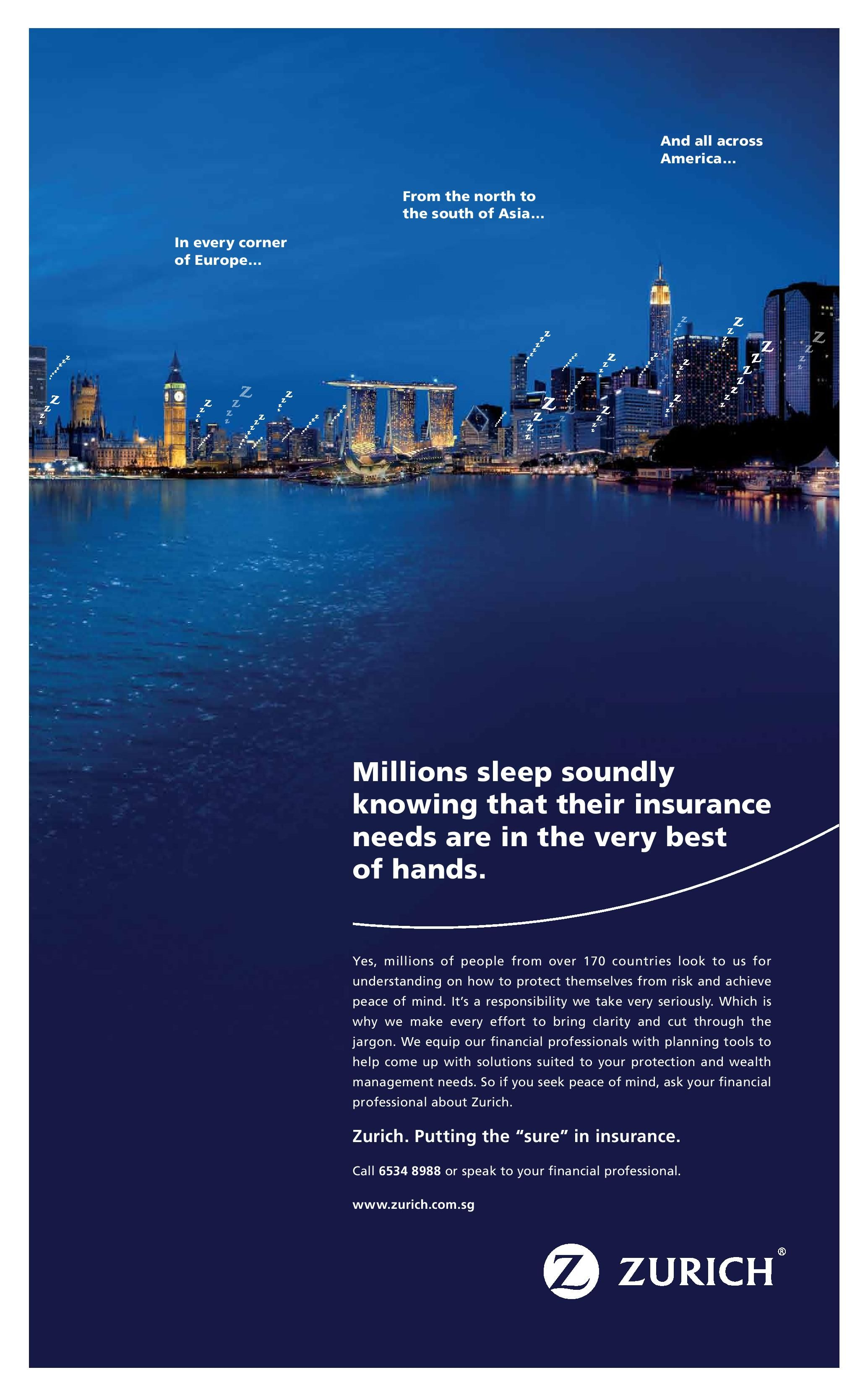 Pin By Zurich Insurance Singapore On Seen Heard America Europe No Response