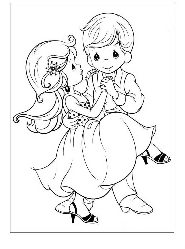 Precious Moments Ausmalbilder. Malvorlagen Zeichnung druckbare nº 17 ...