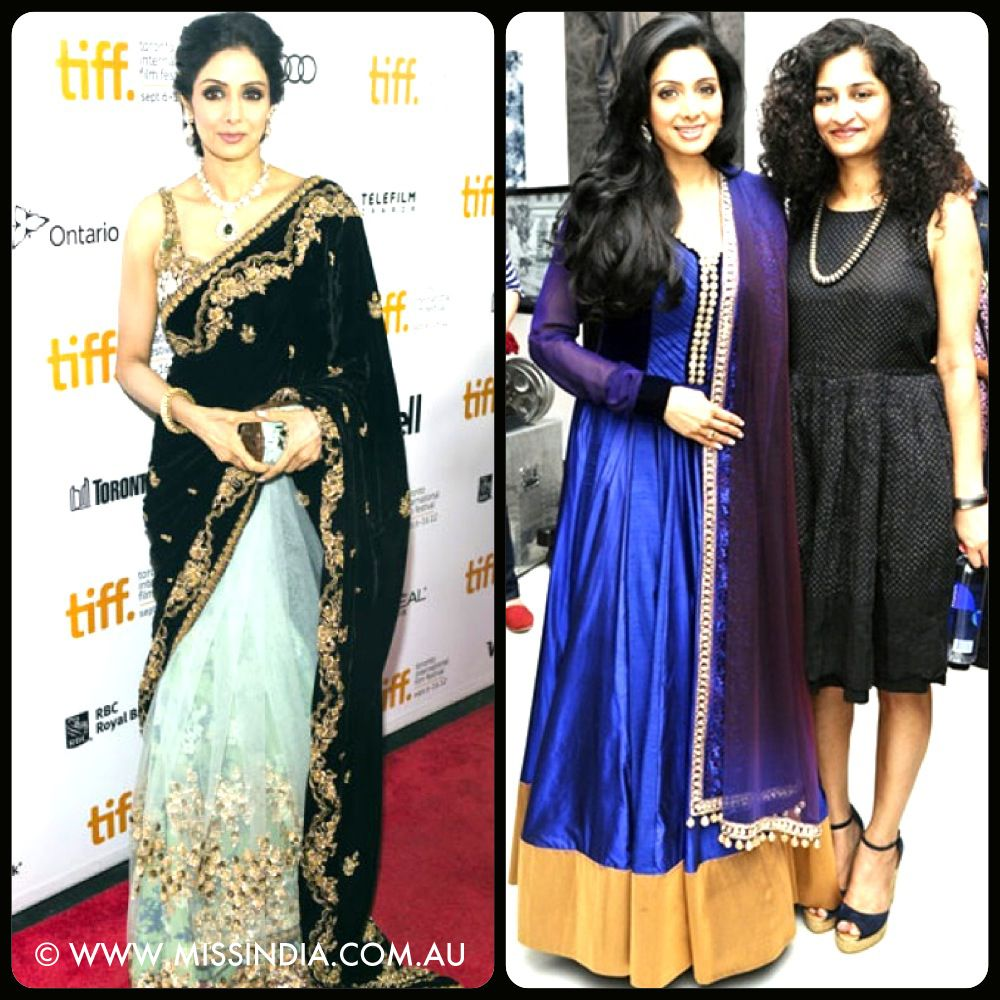 Sri devi graces the red carpet at the premiere of her new film