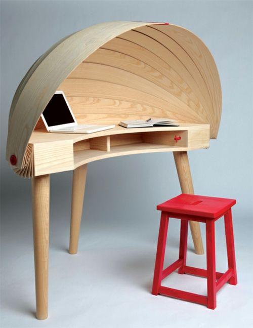 Slimdesk Schreibtisch Holzplatte