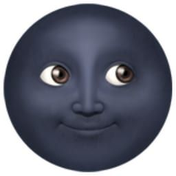 Have Breakfast For Dinner And We Ll Reveal Which Emoji You Are Moon Emoji Moon Face Emoji Black Moon Emoji