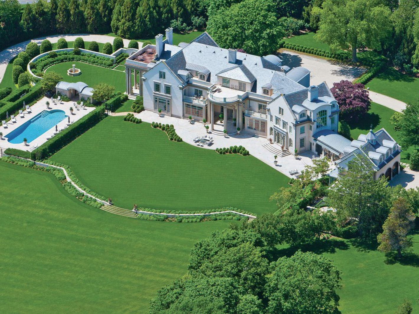 The Ten Most Insanely Expensive Houses In The Hamptons Mansions Villa Maria Hampton Mansion