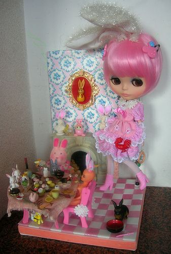 "Nerea Pozo Art: Custom Blythe doll """