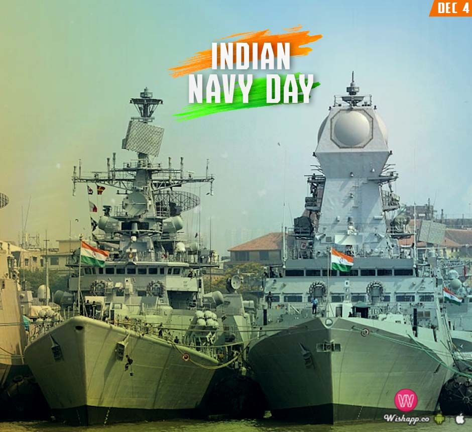 Indian Navy Day Wishapp Indian Navy Day Navy Day Wishes Images