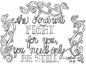 Look To Him And Be Radiant Scripture Coloring Page Be