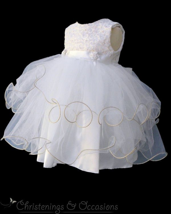dbea93ce4b34a The perfect christening outfit for your baby girl as well as being suitable  for baby flower-girls