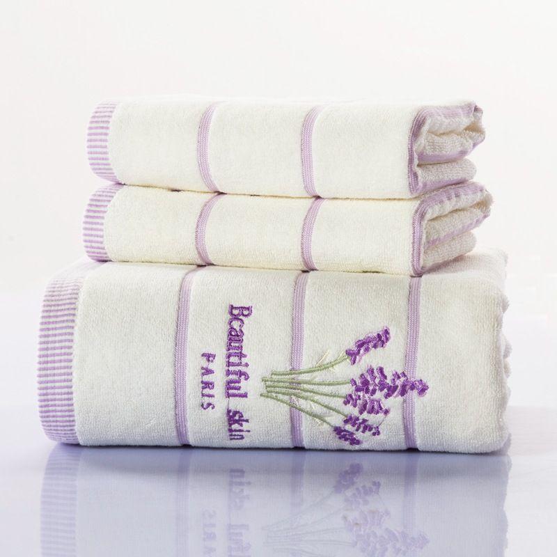 wholesale!!! 100% cotton super softness thicker towel sets hand face ...