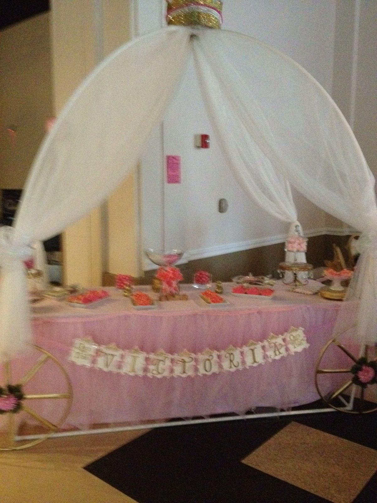 Victoria Anabella's BabyShower candy table