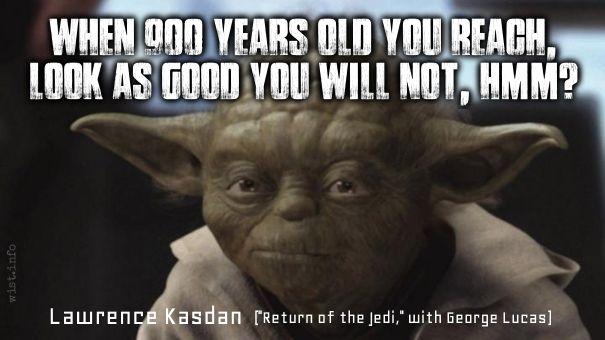 Kasdan Lawrence Return Of The Jedi 1983 With George Lucas