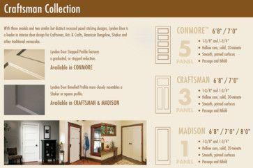 Craftsman Molded Interior Doors   Respecting Tradition, Embracing  Innovation   Craftsman   Interior Doors