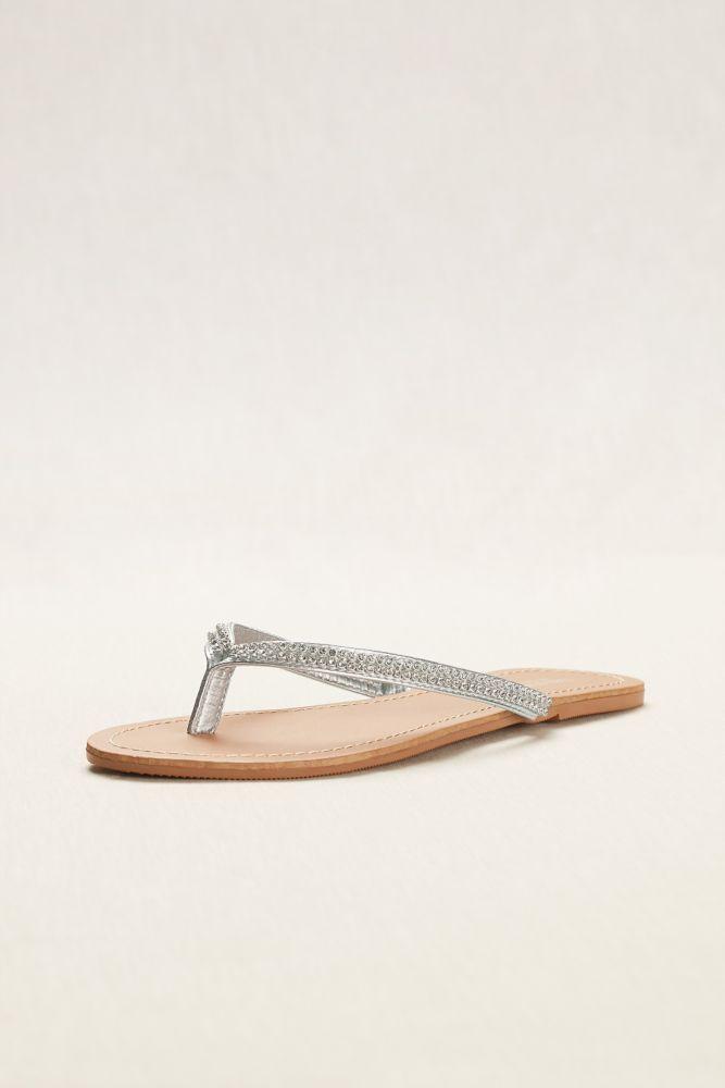 d2656d0c26786f Crystal Embellished Thong Sandal Style SAM