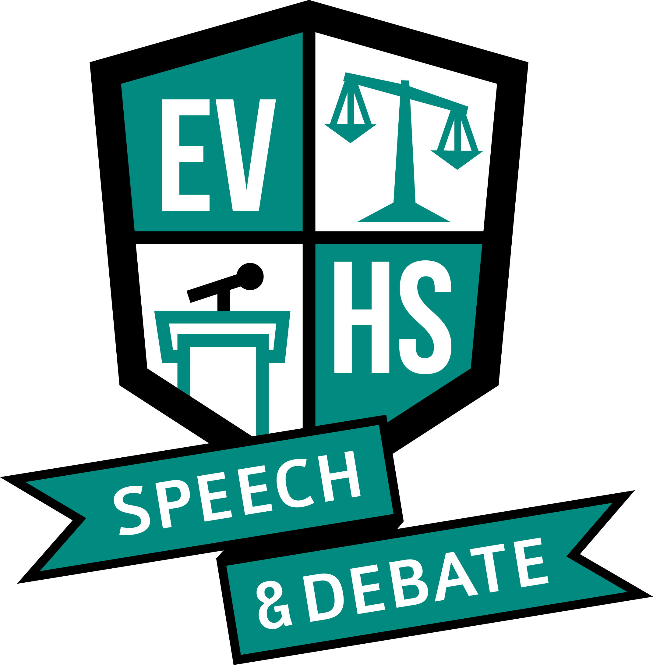 Design template: debate club speak your mind