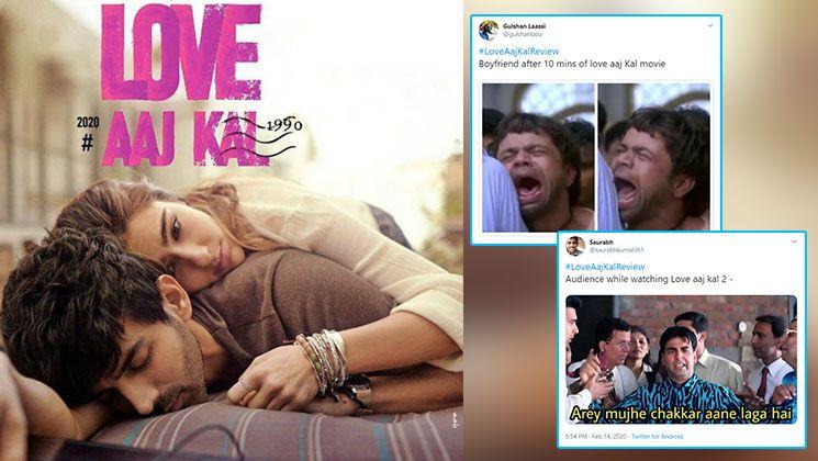 Love Aaj Kal Twitterati Brutally Trolls Kartik Aaryan And Sara Ali Khan Starrer With Hilarious Memes Funny Memes Hilarious Sara Ali Khan