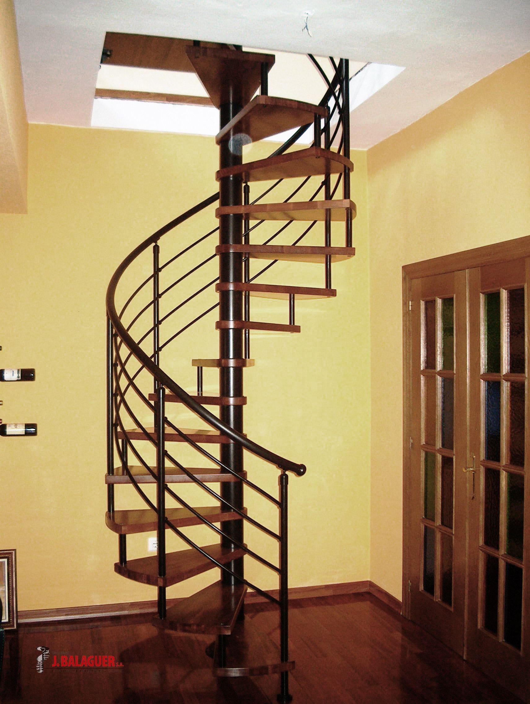 Resultado De Imagen Para Escalera Caracol Hierro Stairs Deck Stairs Home Decor